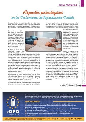 Page 27 of Aspectos psicológicos en los tratamientos