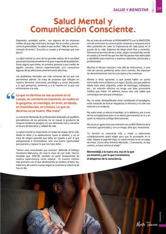 Page 29 of Salud mental y comunicación consciente