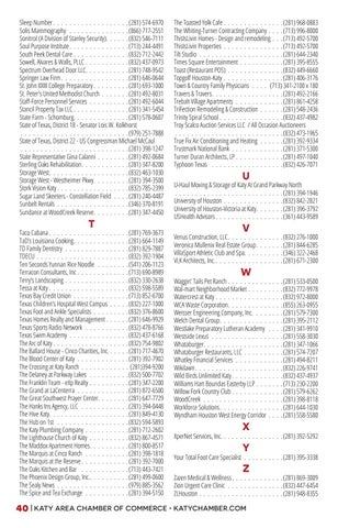 Page 42 of MEMBER LISTINGS BY CATEGORY