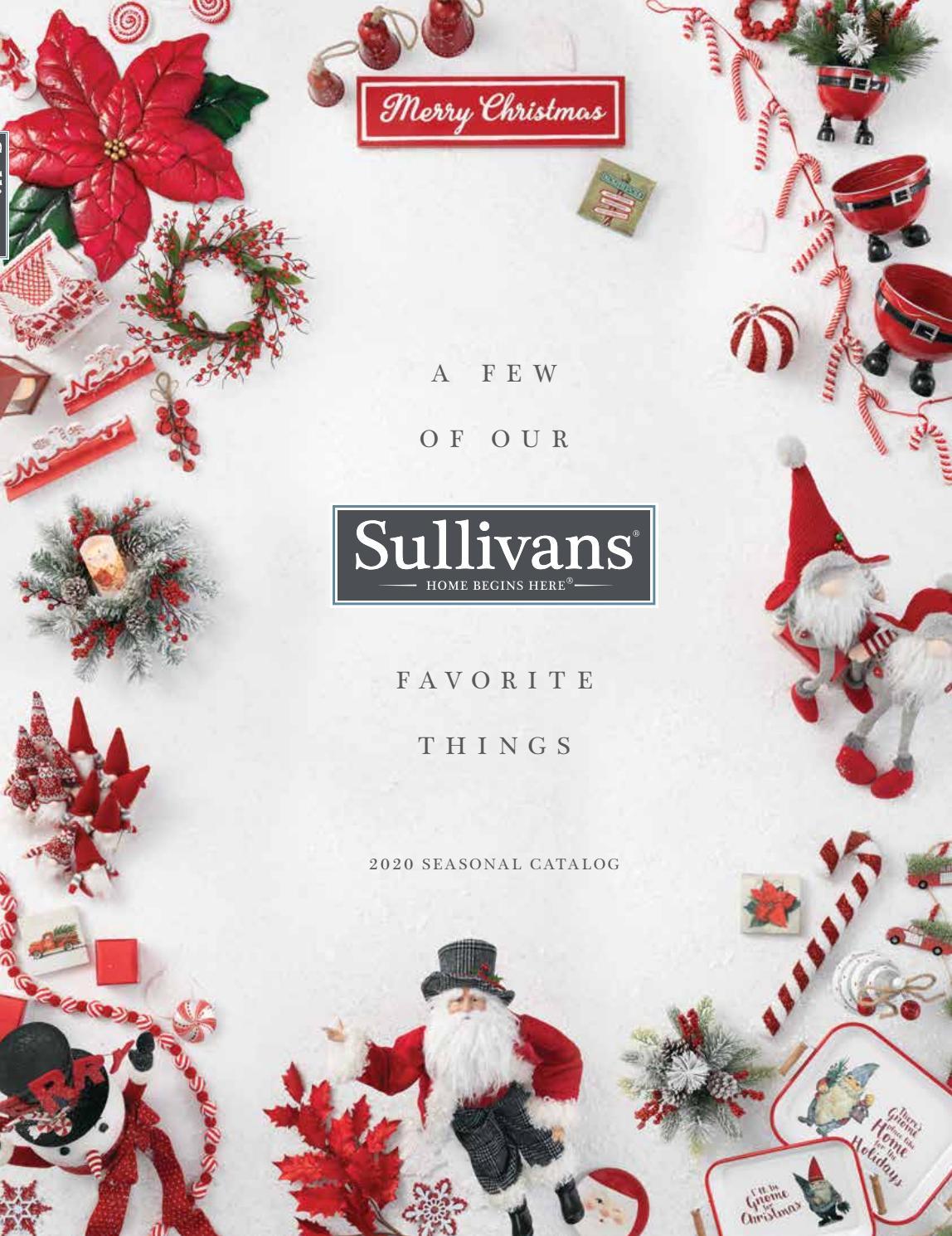 Christmas Catalogs 2020 Sullivans 2020 Seasonal Catalog by Cliff Price and Company   issuu