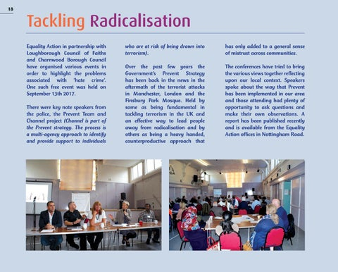 Page 18 of TACKLING RADICALISATION