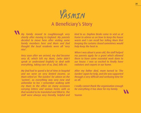 Page 25 of Yasmin: A Beneficiary's Story