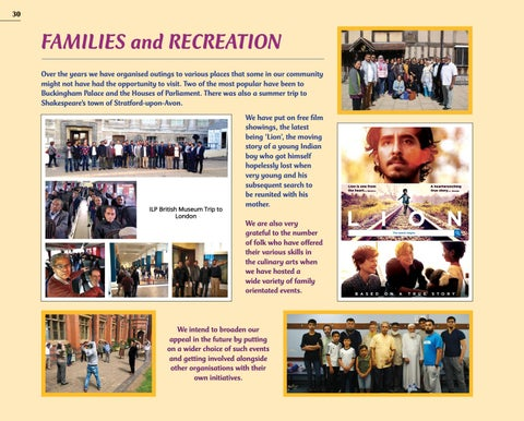 Page 30 of FAMILIES and RECREATION