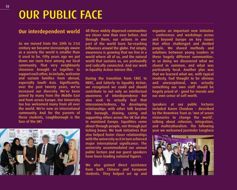 Page 32 of OUR PUBLIC FACE