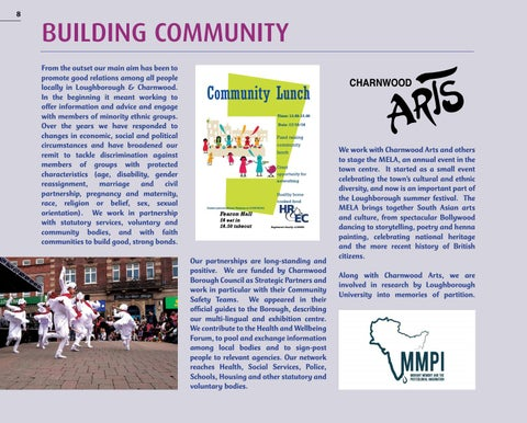 Page 8 of BUILDING COMMUNITY