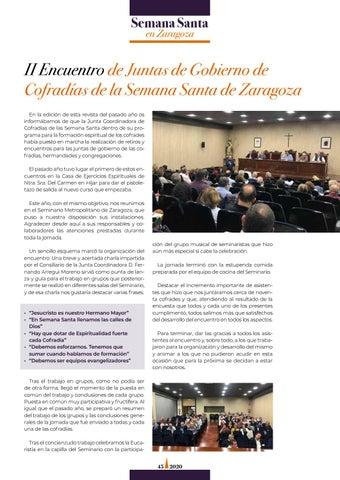 Page 45 of Hablar sobre nuestra Semana Santa