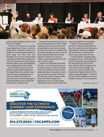 Page 13 of 2020 New York Tennis Expo Recap