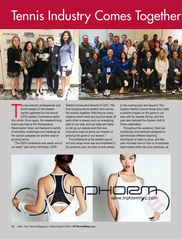 Page 34 of Tennis Industry Comes Together for Annual Eastern Conference