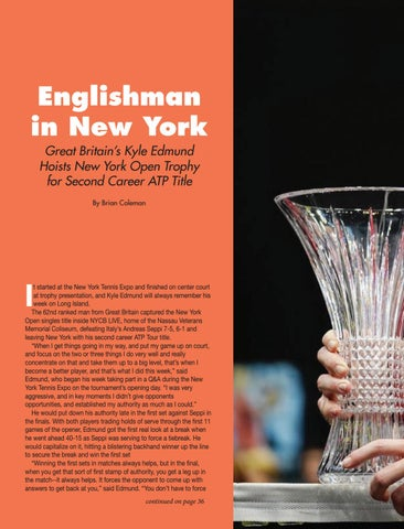 Page 36 of Englishman in New York: Great Britain's Kyle Edmund Hoists New