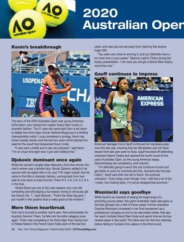 Page 58 of 2020 Australian Open Recap