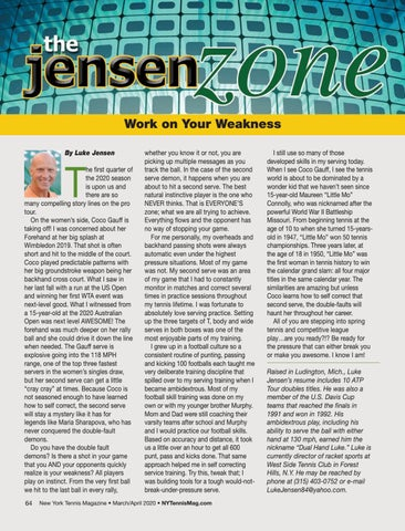 Page 66 of The Jensen Zone: Work On Your Weakness By Luke Jensen