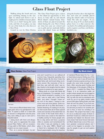 Page 23 of Glass Float Project