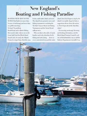Page 24 of New England's Boating and Fishing Paradise