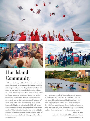 Page 39 of Our Island Community