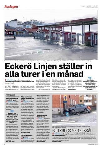 Page 6 of Eckerö Linjen ställer in alla turer i en månad