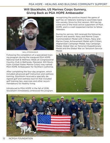 Page 12 of 13 PGA HOPE Ambassadors