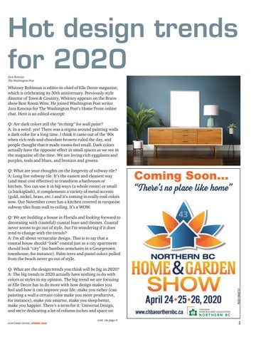 Page 3 of Hot Design Trends for 2020