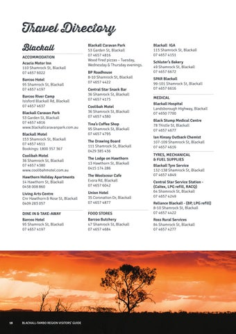 Page 18 of Travel Directory