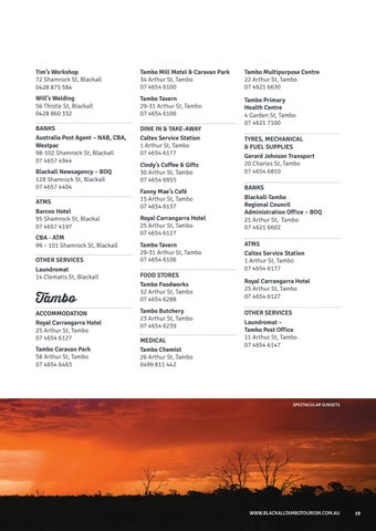 Page 19 of Travel Directory