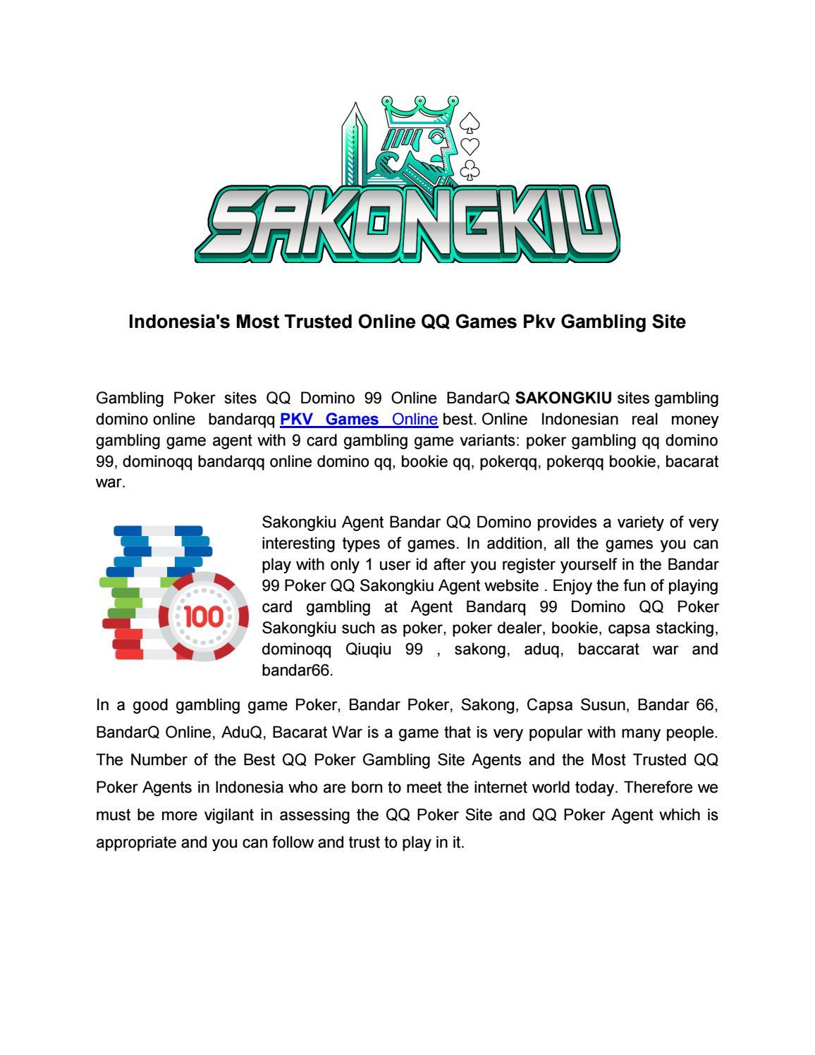 Play Pkv Games Qq Online At Sakongkiu By Sakongkiu Issuu