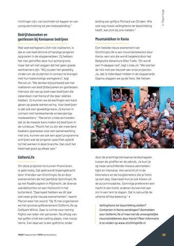 Page 33 of Het goede werk van Stichting4Life
