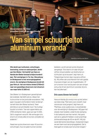 Page 34 of Den Bleker breidt weer uit, nu in Bodegraven