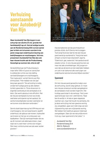 Page 41 of Verhuizing aanstaande voor Autobedrij f