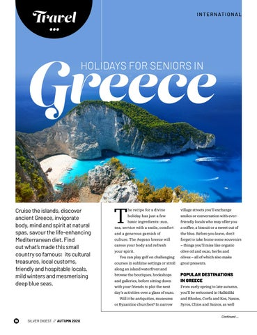 Page 16 of Holidays for seniors in Greece