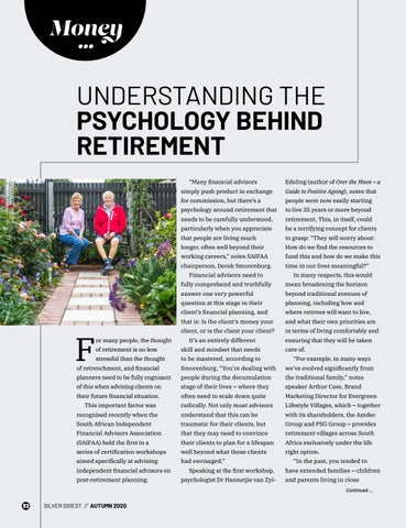 Page 32 of UNDERSTANDING THE PSYCHOLOGY BEHIND RETIREMENT
