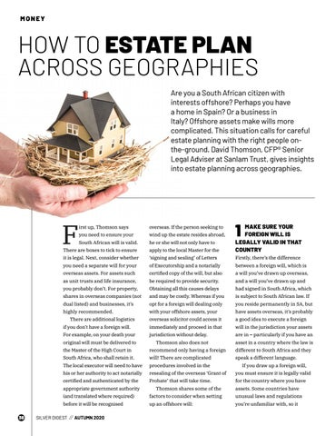 Page 38 of HOW TO ESTATE PLAN ACROSS GEOGRAPHIES
