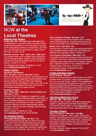 Page 20 of NOW at the Local Theatres