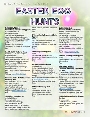 Page 16 of EASTER EGG HUNTS