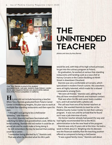 Page 4 of THE UNINTENDED TEACHER