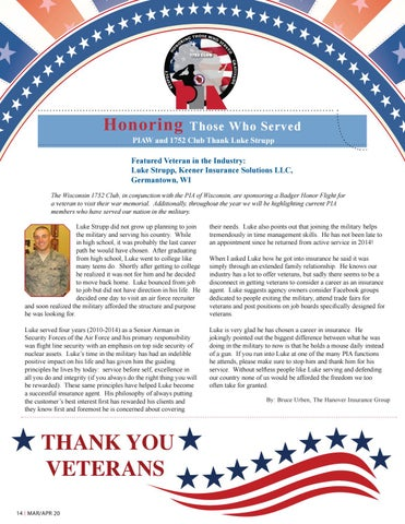 Page 14 of Honoring Those Who Served