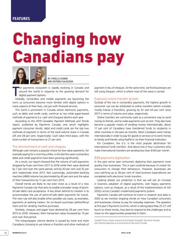 Page 14 of Changing how Canadians pay