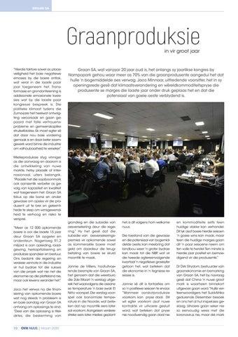 Page 12 of Graanproduksie in vir groot jaar