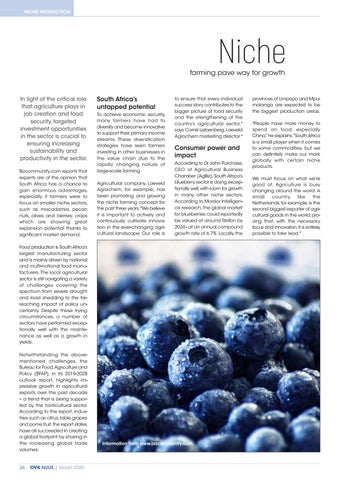 Page 28 of Niche farming paves way for growth