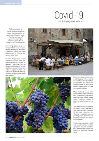 Page 34 of Covid-19 hits Italy's agriculture hard
