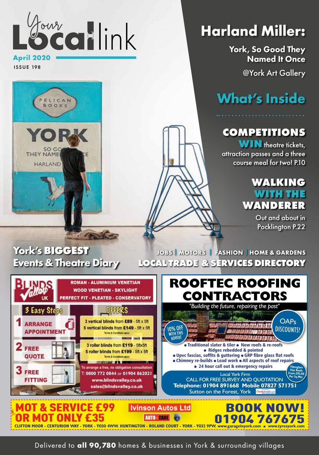 Your Local Link April 2020 By Your Local Link Ltd Issuu