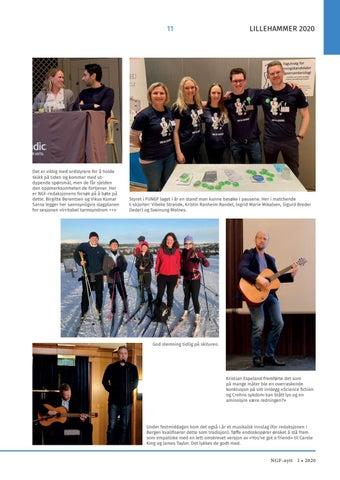 Page 11 of NGFs (47) årsmøte 2020 – Oppsummering av NGFs vintermøte på Lillehammer 6-8 februar 2020