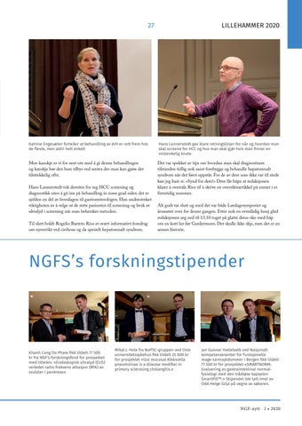 Page 27 of NGFS's forskningstipender