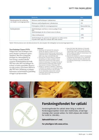 Page 35 of Endoskopiskolen – en viktig samarbeidspartner i tarmscreeningprogrammet