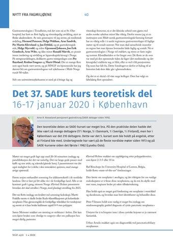 Page 40 of Det 37. SADE kurs teoretisk del