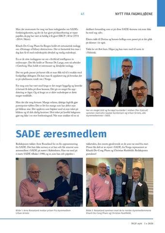 Page 41 of SADE æresmedlem