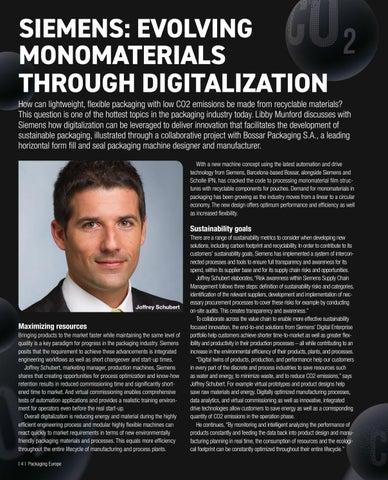 Page 6 of Evolving monomaterials Siemens talks digitalization