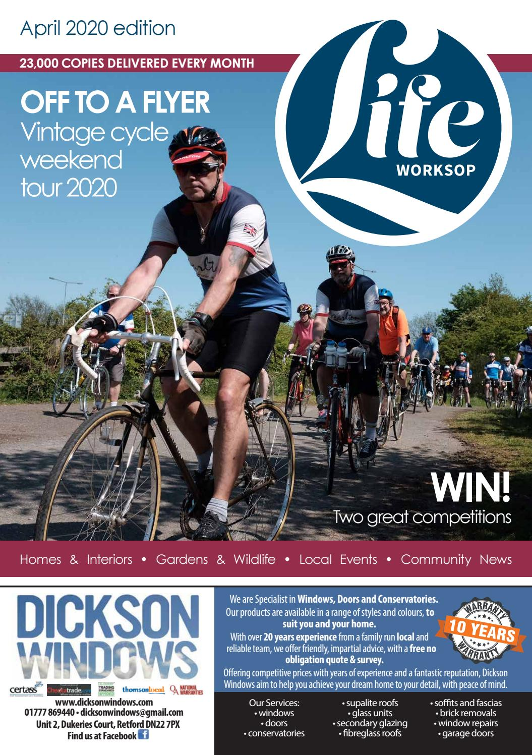 Worksop Life Magazine April 2020 By Life Publications Issuu