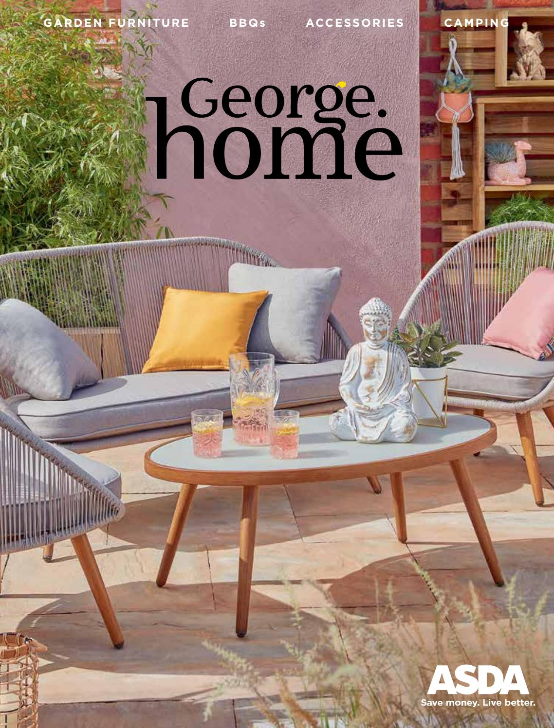 George Home Outdoor Living Catalogue by Asda - issuu