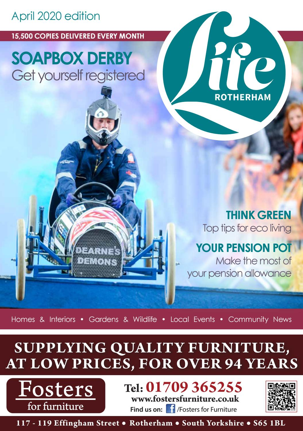 Rotherham Life Magazine April 2020 By Life Publications Issuu