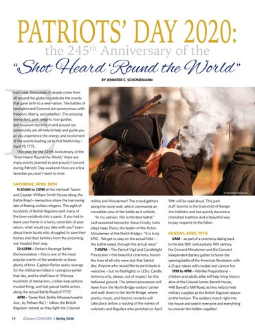 """Page 12 of Patriots' Day 2020: the 245th Anniversary of the """"Shot Heard 'Round the World"""""""
