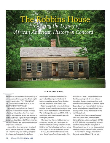 Page 16 of The Robbins House: Preserving the Legacy of African American History in Concord